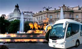 imgBox1madrid. Autobuses en Madrid