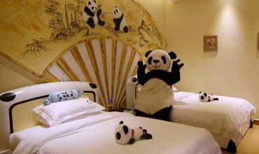 Hotel dedicado al Panda