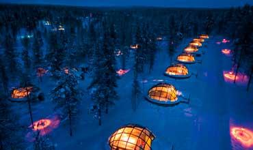 Hotel aldea de iglús