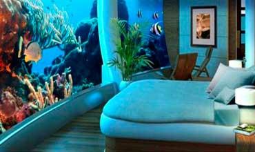 Hotel dentro del oceano